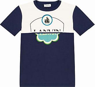 Lanvin Logo T-shirt Mens Multicolour