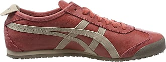 Onitsuka Tiger Unisex Adults Mexico 66 Fitness Shoes, Red Brick/Feather Grey 600), 3.5 UK