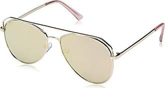 b5573fa62895f Foster Grant Item 8 Sm.3 Aviator Gold Womens Designer Sunglasses by Foster  Grant