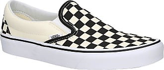 Vans Checkerboard Classic Slip-Ons black white checkerboard