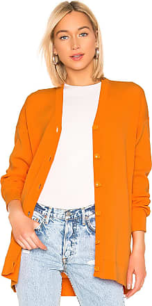 Tibi Easy Cardigan in Orange