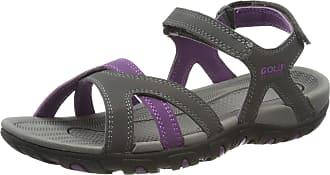 Gola Womens/Ladies Cedar Sandals (5 UK) (Grey/Purple)