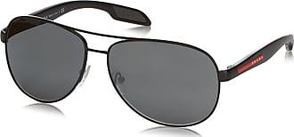 Prada Sport Mens Mod. 53Ps Sole Aviator Sunglasses, 1BO7W1