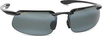 9551b6e918b Maui Jim 409-02 Gloss Black Kanaha Rimless Sunglasses Polarised Golf