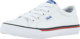 Keds Kids JumpKick Sneaker, White, 10.5 Little Kid M