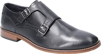 Base London Base Montage Waxy Mens Leather Material Formal Shoes Black - 8 UK