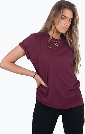 Perform Collection Boyfriend Tee - Bordeaux Red