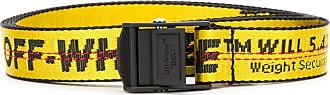 Off-white Cintura con stampa - Di colore giallo