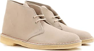Clarks Desert Boots Chukka for Men, Sand, Suede leather, 2017, 8