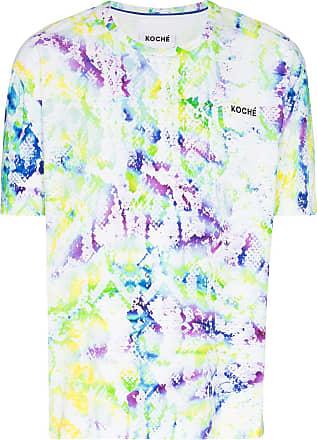 Koché Camiseta com estampa de logo - Branco