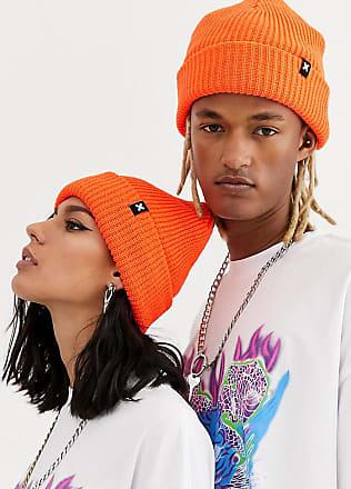 Collusion Unisex beanie in neon orange