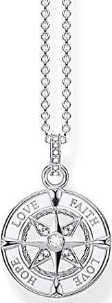 Thomas Sabo Femme Pendentif Charm Infinity Charm Eternity Argent Sterling 925 1132-051-14