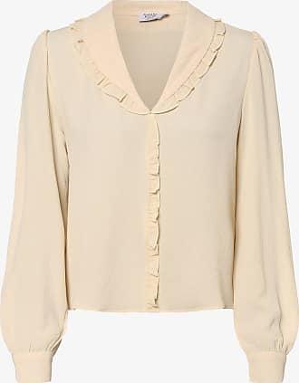 NA-KD Damen Bluse beige