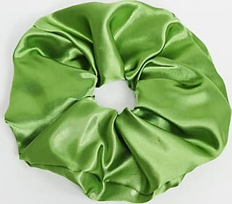 Asos Elastico per capelli grande in raso verde