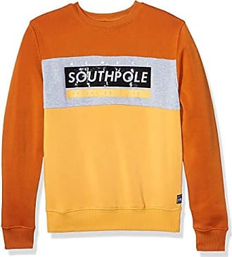 Gray Gel Southpole Mens Fleece Crewneck Sweatshirt Large