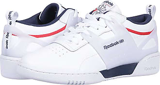 4bbcbaa1e38a6 Reebok Lifestyle Workout ULS L (White Collegiate Navy Primal Red) Mens  Classic