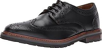 Florsheim Mens Estabrook Wingtip Lace Up Oxford Dress Casual Shoe, Black, 8.5 3E US