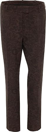 The Crocale Setre Silk Pants Chocolate