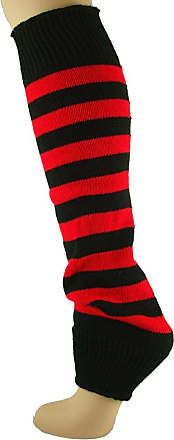 MySocks Leg Warmers Red Black