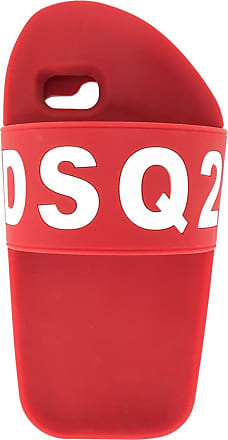 Dsquared2 cover iphone 8 canadian monster - di colore rosso