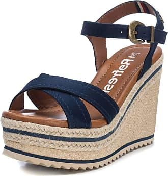 Refresh LOCKI Sandals/Sandals Femmes Marine Sandals/Sandals Blue Size: 5 UK