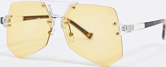 SVNX Occhiali da sole trasparenti gialli-Giallo