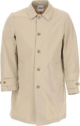 Aspesi Mens Coat On Sale, Beige, Cotton, 2017, L M XL