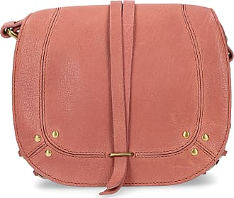 Jerome Dreyfuss Handbag VICTOR leather logo rosé