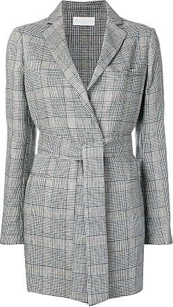 Fabiana Filippi check print blazer - Grey