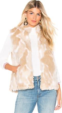 BB Dakota JACK by BB Dakota Faux Fur What Vest in Ivory
