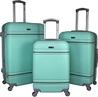 World Traveler American Collection 3-Piece Spinner Luggage-Mint Grey