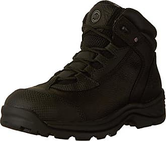 Timberland PRO Mens Ratchet Hiker CSA Work Boot, Black Full-Grain Leather, 8.5 W US