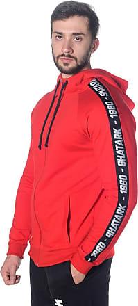 Shatark Blusa De Moletom Target - Vermelho (GG)