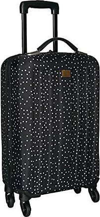 Roxy Juniors Stay True Wheelie Rolling Suitcase, Black dots for Days, One Size