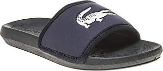 Lacoste Croco Slide Herren Sandalen Blau