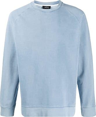 A.P.C. Moletom com efeito jeans - Azul