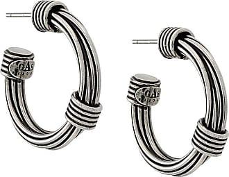 Gas Bijoux Ariane hoop earrings - Metálico