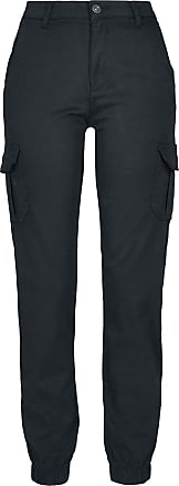 Urban Classics Ladies High Waist Cargo Pants - Cargohose - schwarz