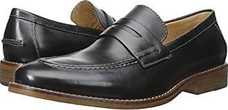 G.H. Bass & Co. Mens Conner Slip-On Loafer, Black, 8.5 M US
