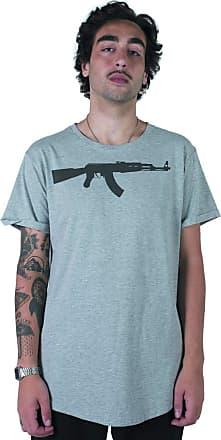 Stoned Camiseta Longline Ak47 - Llnak47xxx-cz-03