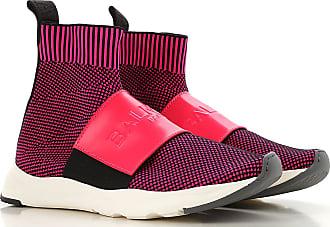 2e659210587 Balmain Slip on Sneakers for Women On Sale, Black, Knitted, 2017, 36