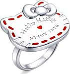 Chow Sang Sang Hello Kitty Sterling Silver Ring