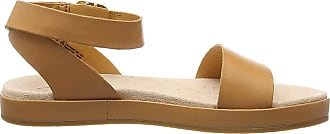 Clarks Womens Botanic Ivy Ankle Strap Sandals, Brown (Light Tan Nubuck), 4.5 UK