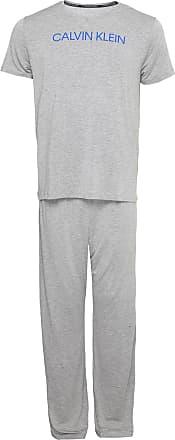 Calvin Klein Underwear Pijama Calvin Klein Underwear Logo Cinza