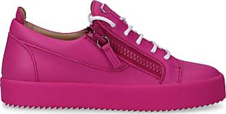Giuseppe Zanotti Low-Top Sneakers PARTY calfskin Logo pink