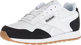 15 M US Black//Alloy//Carotene Reebok Mens Classic Leather Sneaker