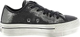de Ox Femme Ctas Pail Distressed Converse Platform Gris Chaussures Sport ftpnXtqwa
