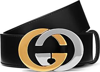 ffa0f4665d186f Gucci 4cm Black Full-grain Leather Belt - Black