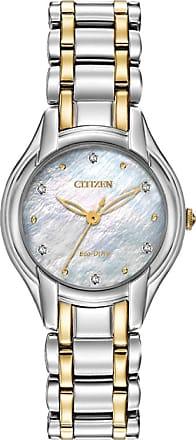 Acotis Limited Citizen Ladies Eco Drive Silhouette Diamond Watch EM0284-51D