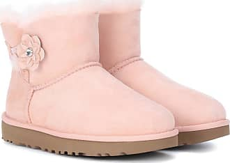 UGG Mini Bailey Petal suede boots
